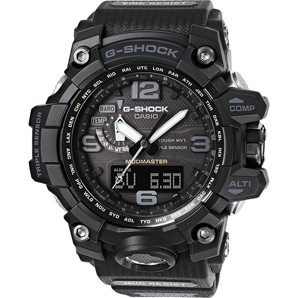 Кварцевые часы Casio G-Shock Premium gwg-1000-1a1 Black