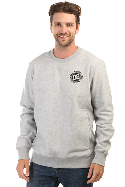 Свитшот DC Core Crew Fleece Heather Grey