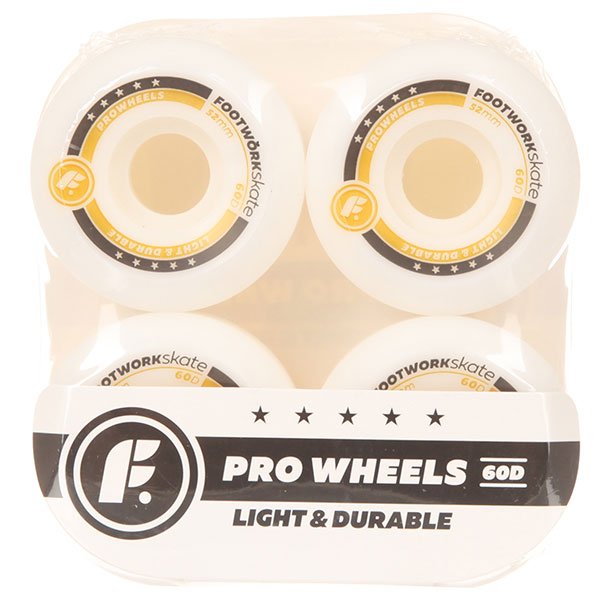 Колеса для скейтборда Footwork Lx Pro White 60D 52 mm