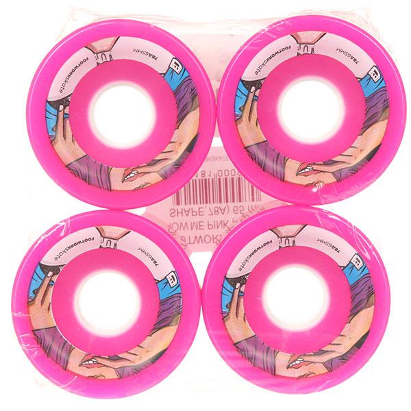 Колеса для лонгборда Footwork Show Me Pink 78A 65 mm