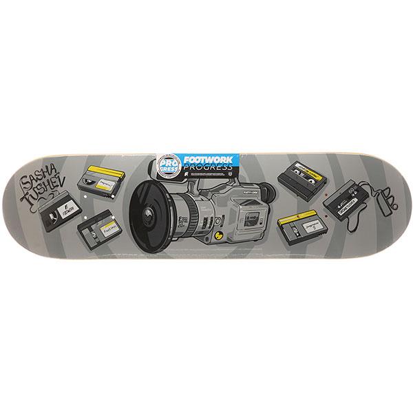 Дека для скейтборда Footwork Progress Tushev 1000 Grey 31.625 x 8.125 (20.6 см)