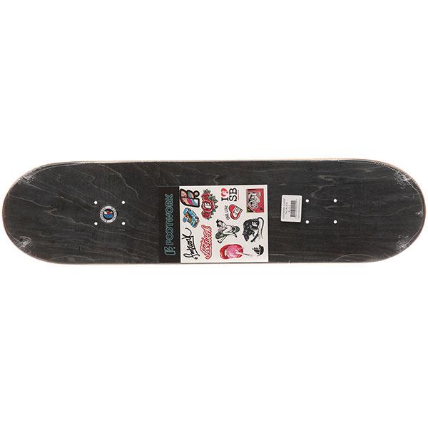 Дека для скейтборда Footwork Classic Tag Black 31.5 x 8 (20.3 см)