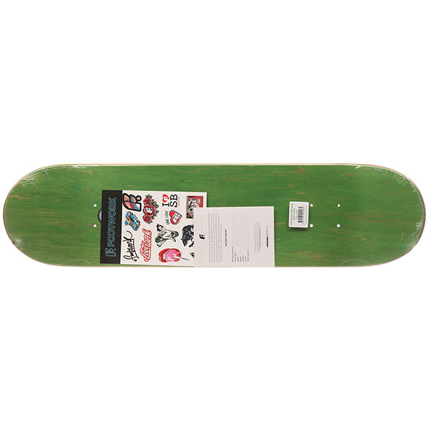 Дека для скейтборда Footwork Progress Bad Dawg White/Multi 32.5 x 8.25 (21 см)