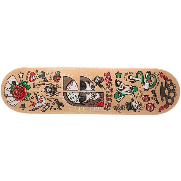 Дека для скейтборда Footwork Classic Partak Beige 31.75 x 8.25 (21 см)