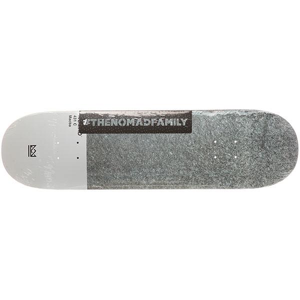 Дека для скейтборда Nomad Macba Nmd3 Grey 31.9 x 8.5 (21.6 см)