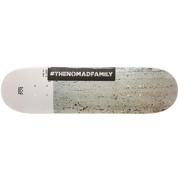 Дека для скейтборда Nomad La Seo Nmd3 High Light Grey 31.8 x 8.25 (21 см)