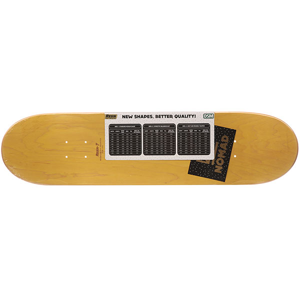 Дека для скейтборда Nomad Crown Logo Nmd3 High Yellow 31.8 x 8.125 (20.6 см)