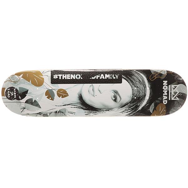 Дека для скейтборда Nomad Amy Nmd3 High Grey 31.7 x 8 (20.3 см)