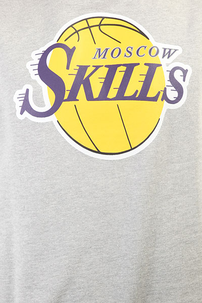 Свитшот Skills Los Angeles Grey Melange