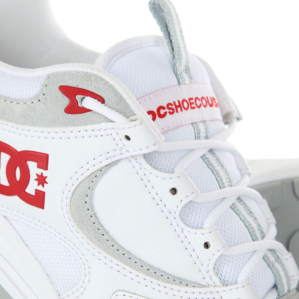 Кроссовки DC Kalis Lite White/Red