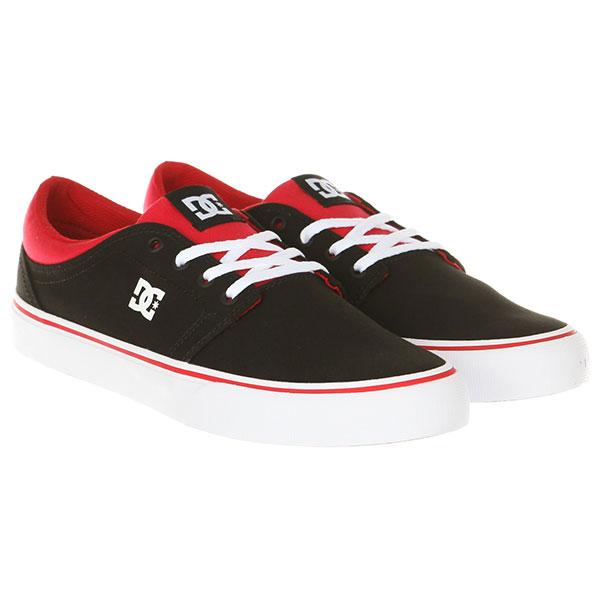 Кеды DC Trase TX Black/Athletic Red