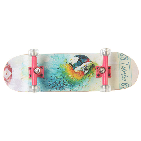 Фингерборд Turbo-FB Girls Edition Parrot Multi/Pink/Clear