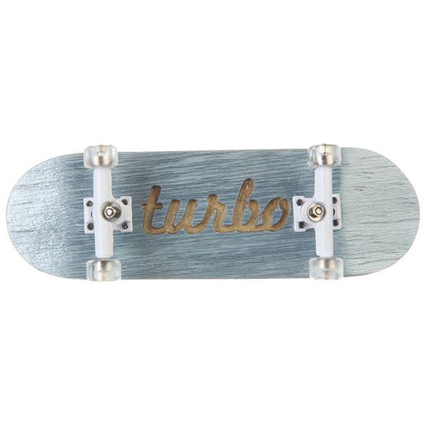 Фингерборд Turbo-FB П10 Гравировка Light Blue/White/Clear