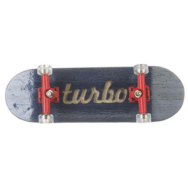 Фингерборд Turbo-FB П10 Гравировка Blue/Red/Clear