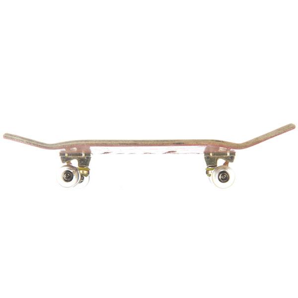 Фингерборд Turbo-FB П10 Гравировка Pink/Gold/Clear 1