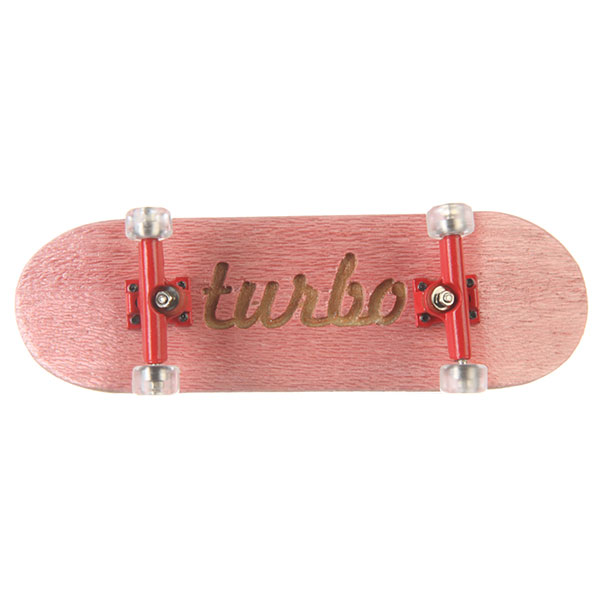 Фингерборд Turbo-FB П10 Гравировка Pink/Red/Clear
