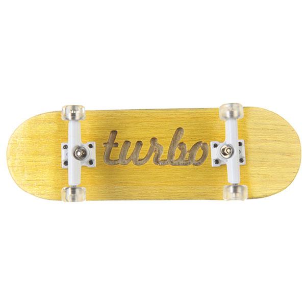 Фингерборд Turbo-FB П10 Гравировка Yellow/White/Clear