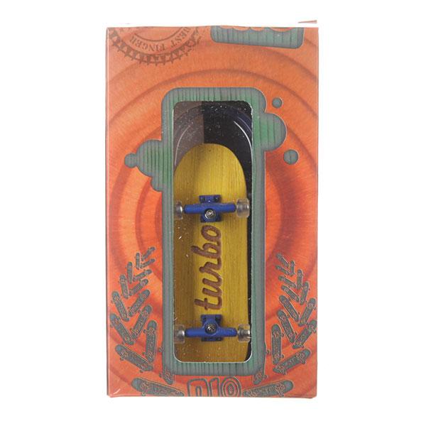 Фингерборд Turbo-FB П10 Гравировка Yellow/Blue/Clear