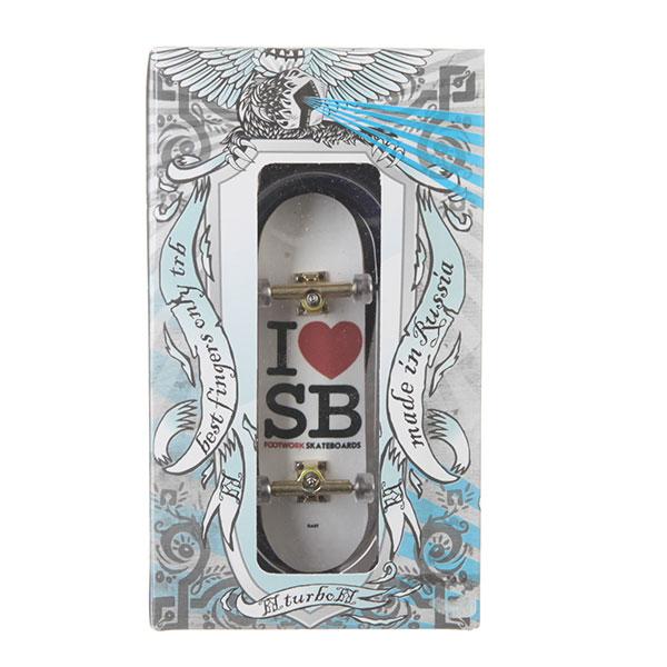 Фингерборд Turbo-FB i love SB White/Gold
