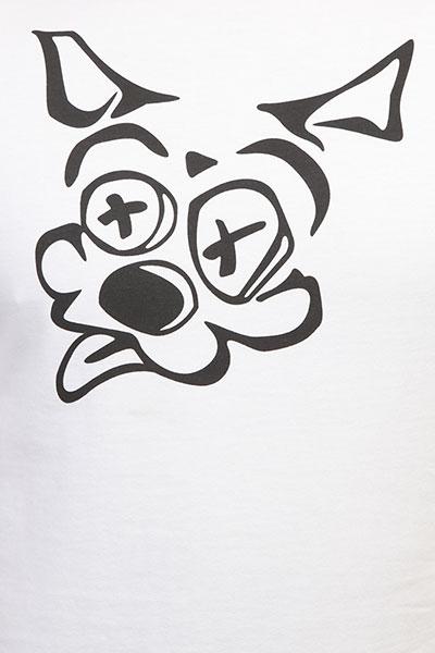 Футболка Pyromaniac Doggy Snow White