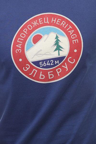 Футболка Запорожец Elbrus 2 Twlight Blue