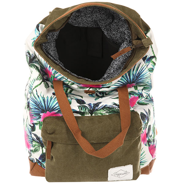 Рюкзак Rip Curl Fresno Backpack Kaki/Chocolate/Multi