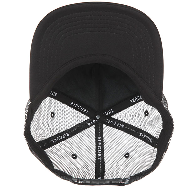 Бейсболка с сеткой Rip Curl React Trucker Cap Black