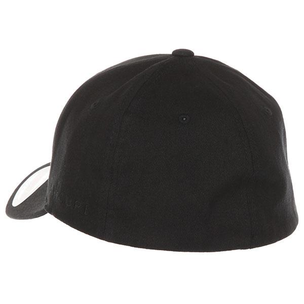Бейсболка классическая Rip Curl Tepan Curve Peak Cap Black