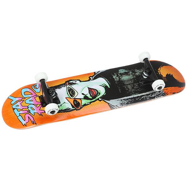 Скейтборд в сборе Quiksilver Stay Rad Tangerine Tango 30.5 x 7.8 (18 см)