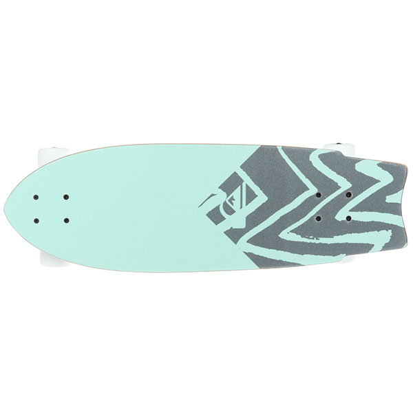 Скейт круизер Quiksilver New Wave St Tropical Green 9 x 28 (71 см)