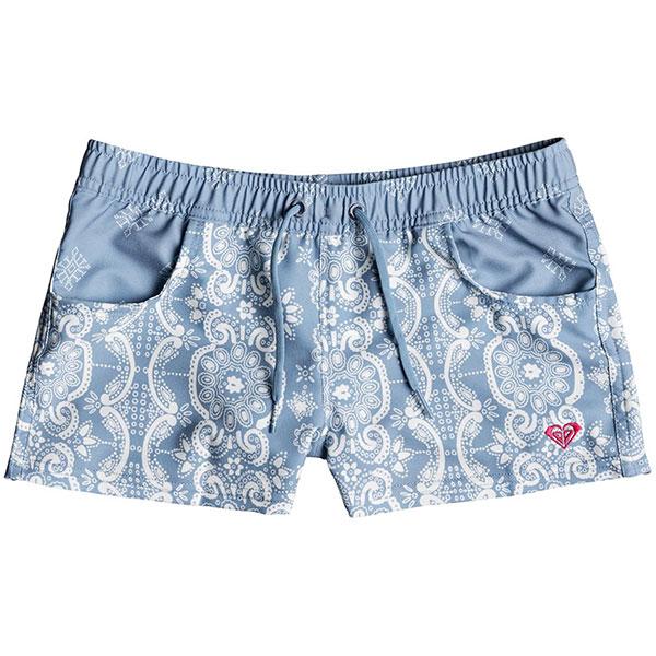 Шорты пляжные детские Roxy Na Su Bs Blue Shadow Bandana