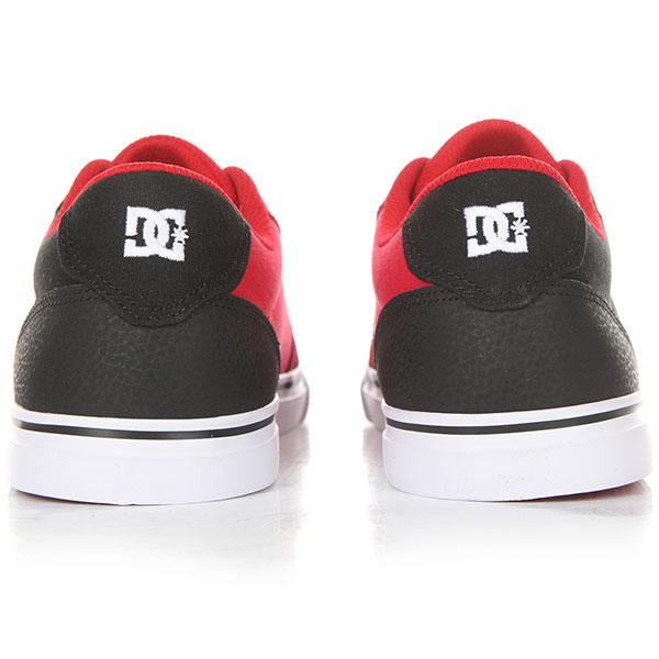 Кеды низкие детские DC Anvil Black/Red