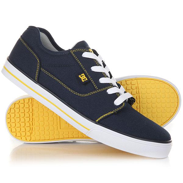 Кеды низкие детские DC Tonik Tx Navy/Yellow