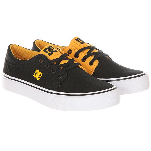 Кеды низкие детские DC Trase Tx Black/Yellow