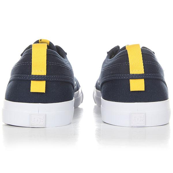 Кеды низкие детские DC Evan Tx Navy/Yellow