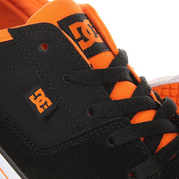 Кеды низкие детские DC Tonik Black/Orange