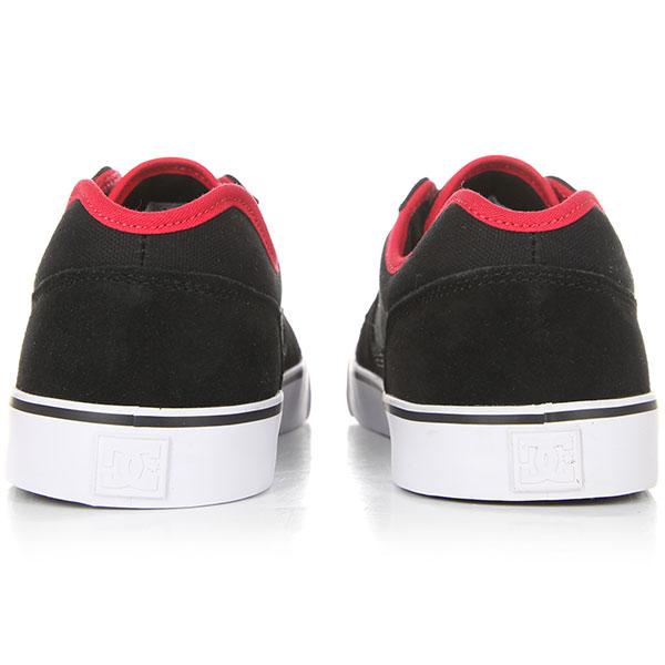 Кеды низкие DC Tonik Black/Athletic Red/B