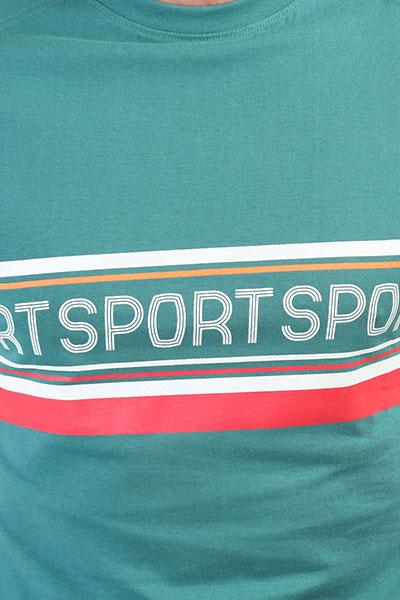 Футболка Запорожец Sport Teal Green