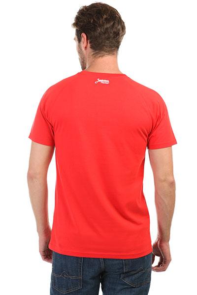 Футболка Запорожец Logo Tropical Red