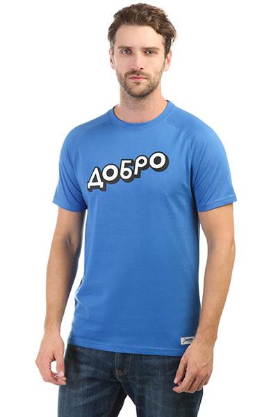 Футболка Запорожец Dobro Tropical Blue