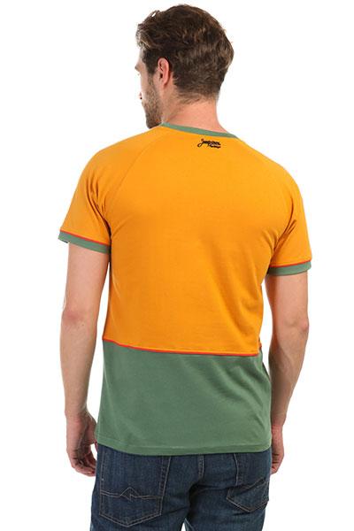 Футболка Запорожец Skateboard Golden Yellow/Green