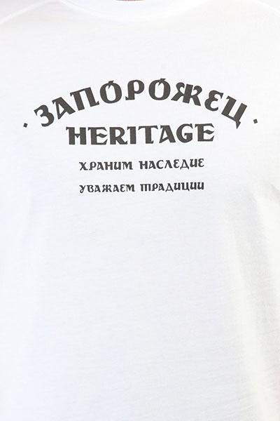 Футболка Запорожец Logo Zaporojec Snow White