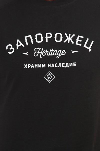 Футболка Запорожец Logo Zaporojec Deep Black