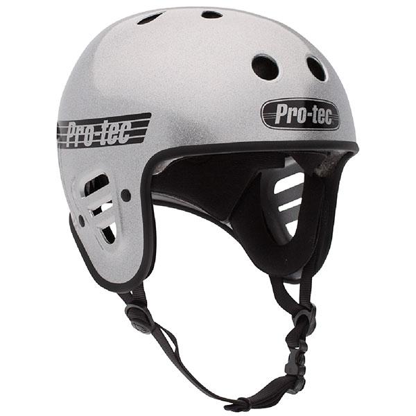 Шлем для скейтборда Pro-Tec Full Cut Skate Silver Flake
