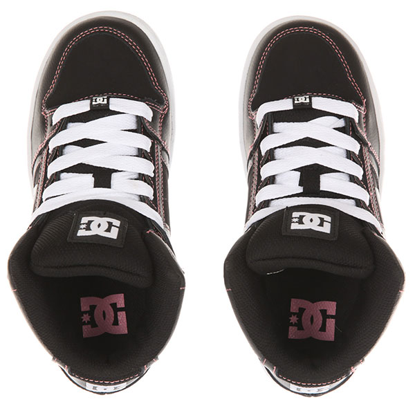 Кроссовки детские DC Pure Ht G Black/Pink