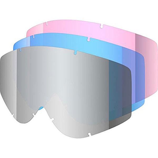 Линза для маски Shred Soaza 3 Lenses Kit Набор Одинарных Линз Для Soaza Blue Rose Platinum Reflect