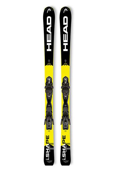 Горные лыжи Head I.shape Ti Ab Black/Neon Yellow