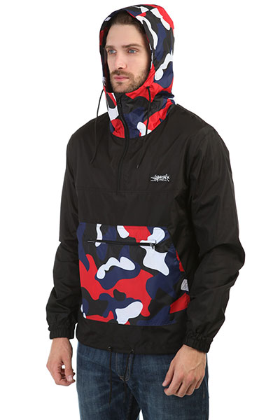 Анорак Anteater Combo Camo-red
