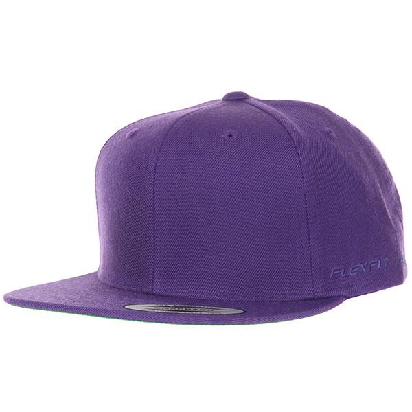 Бейсболка с прямым козырьком Yupoong 6089m Purple
