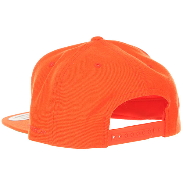Бейсболка с прямым козырьком Flexfit Yupoong 6089m Orange